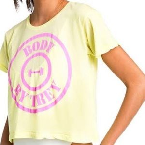 Wildfox Body By Trey - Broad City Middie Tee